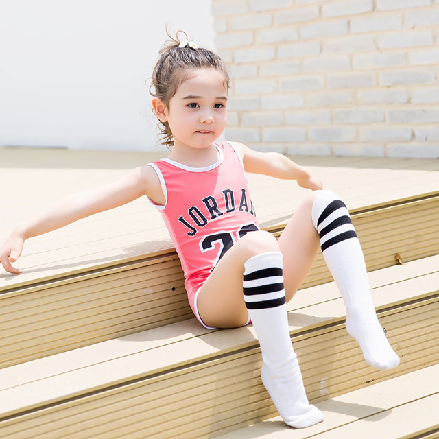 6753b3542bf4d Child Swimwear Piece Girls Swimsuits Wetsuits Kids Bathing Suits Baby Swimsuit  Girl Children Beach Wear Diving Swimming Suit