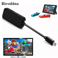 Type C Adapter For Nintend Switch Replacement Dock TV HDMI Converter Cable 3.0 USB Port For Nintend Game Accessories