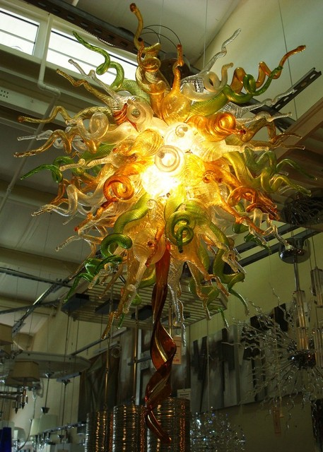 Free Shipping Dale Chihuly Style Hand Blown Murano Glass Decorative ...