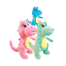 1Pcs Cute Dinosaur Plush Toys for Children Toy Baby Kids Stuffed Plush Animals Plush Soft Doll Boys Girl Present Birthday Gift cute soft baby elephant doll stuffed animals plush pillow kids toy children christmas bed decoration babies plush toys cushion