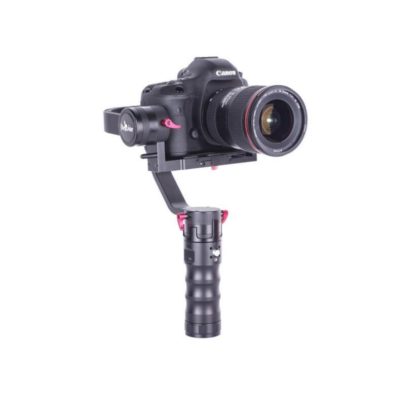 Beholder DS1 3-Axis Handhled Gimbal Stabilzier Support Canon 5D 6D 7D DSLR VS MS1 Nebula 4200 EC1 beholder ds1 3 axis handhled gimbal stabilzier for canon 5d 6d 7d dslr gh4 gh7 nikon d810 d800 dmc sony a7 nex series