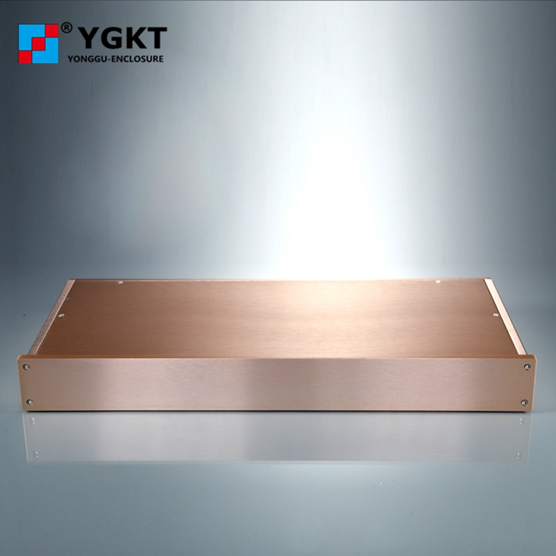 438*45-200mm(WxH-D) aluminum electronic projects enclosure/amplifier enclosure new arrival gof p01 248 4x81 5x209 mm wxh d anodizing aluminum enclosure stereo case