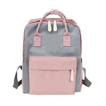 backpack schoolbag for girls Backpacks schoolbags fjallraven kanken japanese school bag high school mochilas mujer 2018sac a dos leather