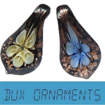Wholesale Murano Glass Pendants Fashion Jewelry (Mix) By Dux Ornaments(diy earrings cartilage earring)