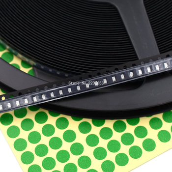 200 sztuk partia SMD 0805 zielone światło koraliki 0805 smd led emitująca światło zielone dioda led układu 2 0*1 2 * 0 8mm tanie i dobre opinie Piłka ROHS WEIDILY 2-2 4 V 20mA