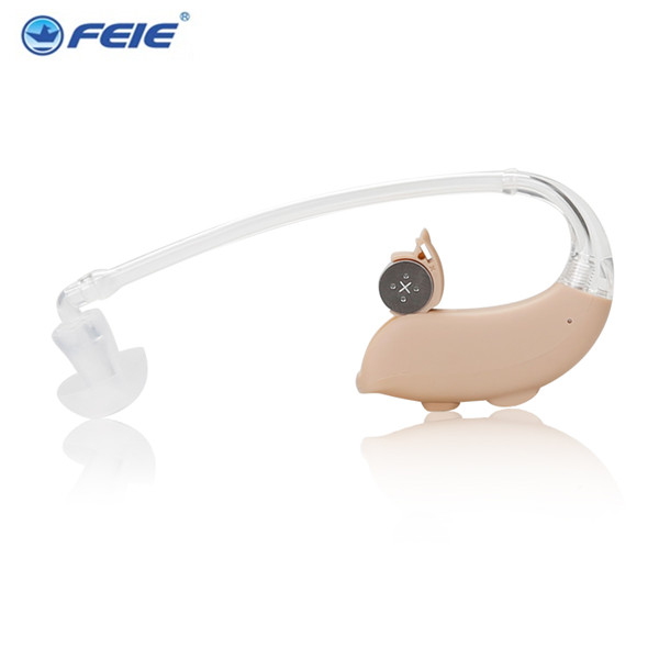 Digital Hearing Aids Aid Behind the Ear Adjustable Sound Amplifier 4 Channels 16 Bands MY-15 free shipping