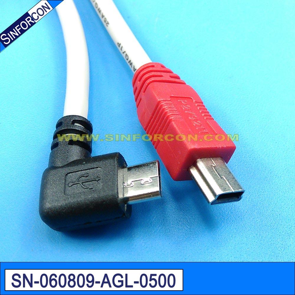 mini usb to micro usb otg cable mini usb to l shape micro usb otg cable with l shape plug usb to usb mini