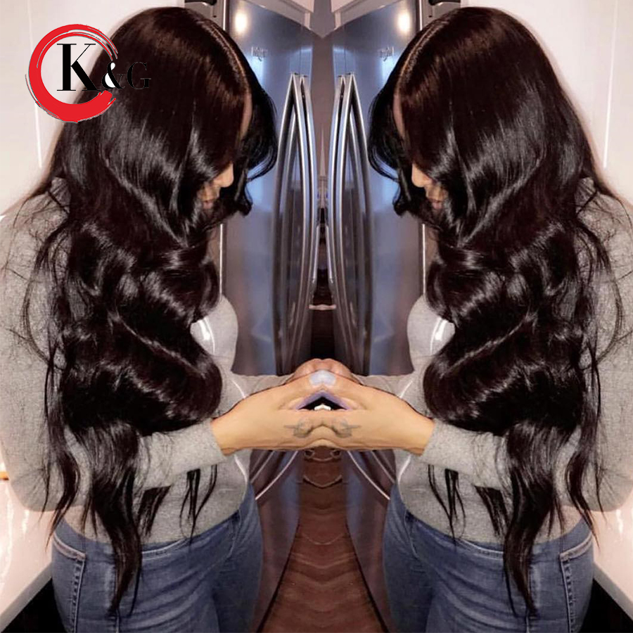 Kun Gang High Density Lace Front Wigs Natural Hairline 250 Density Bleached Knots Glueless Wig For