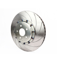 Gold supplier 330mm DICASE Curved Grooves brake discs for CP9440 silver big brake caliper fit for BMW 228i Front wheel