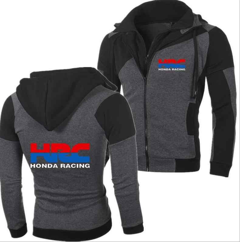 2019 модные для мужчин зимние Suzuki GSX R мотоциклетные толстовки HRC кофты Хлопок повседневное Repsol молния мужской пальто с капюшоном Honda куртки