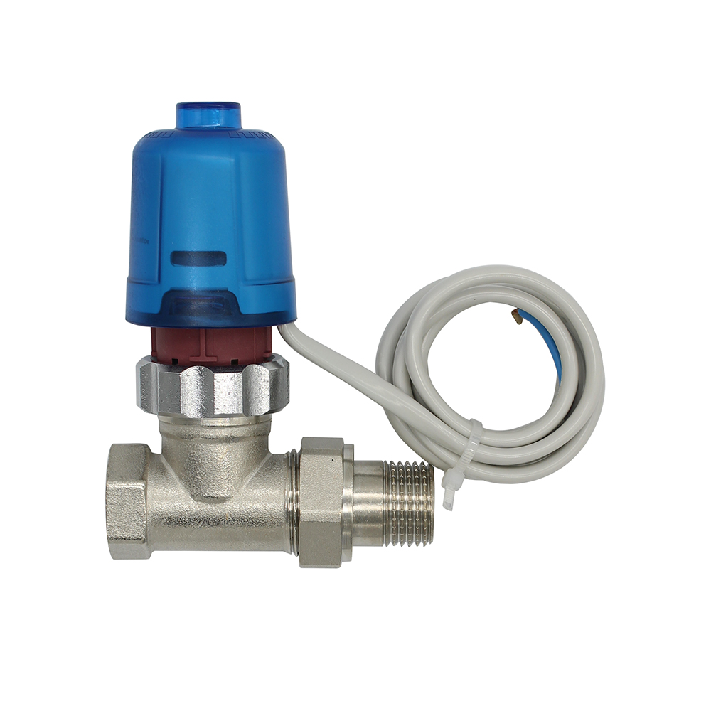230V 24V  Normally close  Electric Thermal Actuator for room temperature control radiator  brass  valve DN15-DN32 dn50 ac220v electric actuator brass ball valve cold