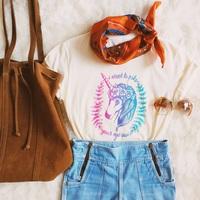 I Want To Poke Your Eye Out Unicornio Pattern Women T Shirt Casual Tumblr   Tops     Tee   Summer Fashion
