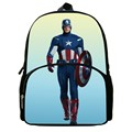 Baby School Bags Hot Sale 12 Inches Printing Cool Hero Avengers Polyester Children Backpack Boy Bookbag for Student Bag for Kids