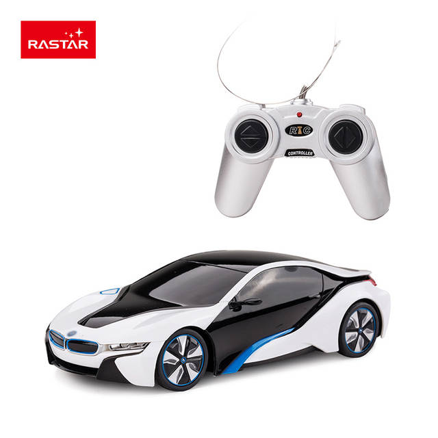 Online Shop Rastar Licensed Rc Car 1 24 Bmw I8 Kids Toys Remote