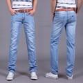 Utr 2016 verano delgado Moda hombre Jeans Casual Jean Pantalones de Mezclilla Skinny Jeans de Marca Famosa Slim fit Jeans 4 colores