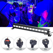 36W DJ Disco UV violeta negro Lights12 LED Par lámpara UV para fiesta Navidad barra lámpara láser escenario pared luz de fondo para arandela(China)
