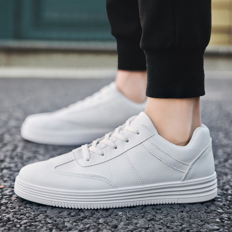 De Padegao léger Printemps 2018 Automne Mode Appartements Marque White  Chaussures Casual Blanc Ultra white Homme ... 76167b293ed