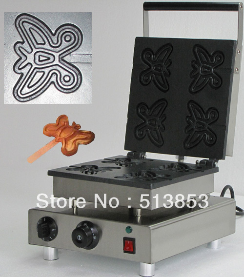 цена на with recipe for square type of waffle maker, 110V /220v waffle machine/Snacks machines of cake baker/ breakfast cake