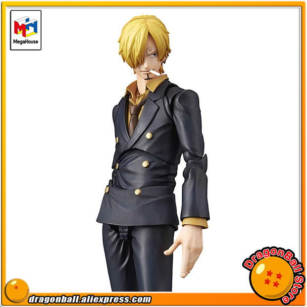 Japan Anime ONE PIECE Original MegaHouse Variable Action Heroes Action Figure - Sanji japan anime one piece original megahouse variable action heroes action figure rob lucci
