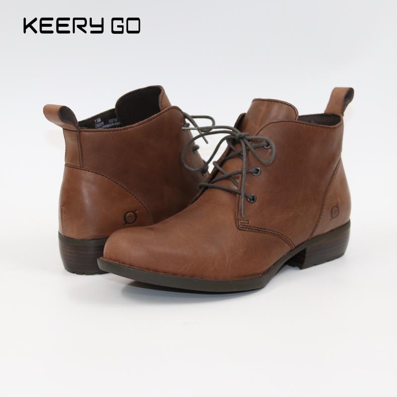 купить Classic high-end leather tie UPS, 3 hole Martin boots, fashionable, simple and comfortable недорого