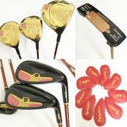 Neue frauen Golf clubs Majestät Prestigio 9 Golf komplett-set von clubs fahrer + eisen + putter graphit Golf welle abdeckung Freies verschiffen