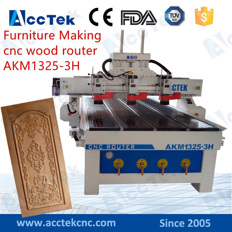 Wooden Cabinet Making Cnc Cutter Wood Mdf Plywood Carving Router