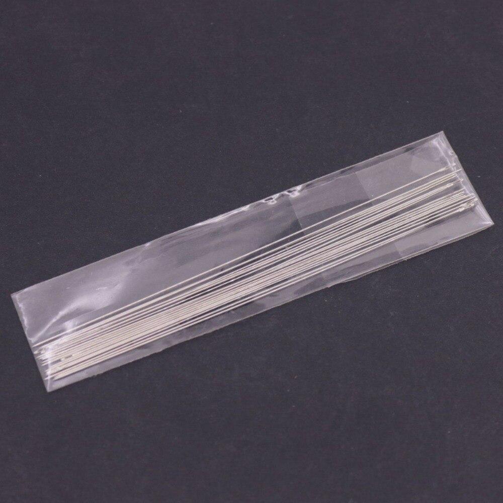 Купить с кэшбэком 30 PCS Beading Loom Needles 80mm 100mm 120mm Long