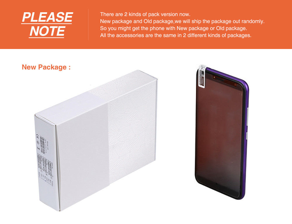 new packaging phone