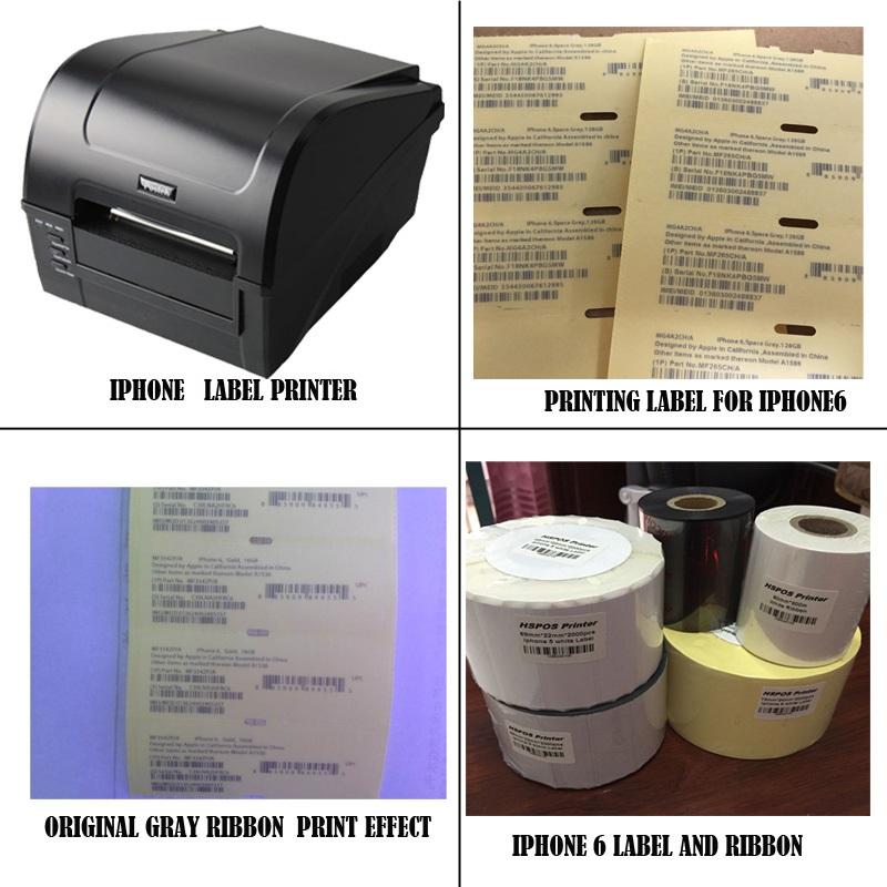 Prix pour Imei étiquette solution pour IOS mobile téléphone 6/6 s imprimante code à barres machine fournir un support technique professionnel chaude vente