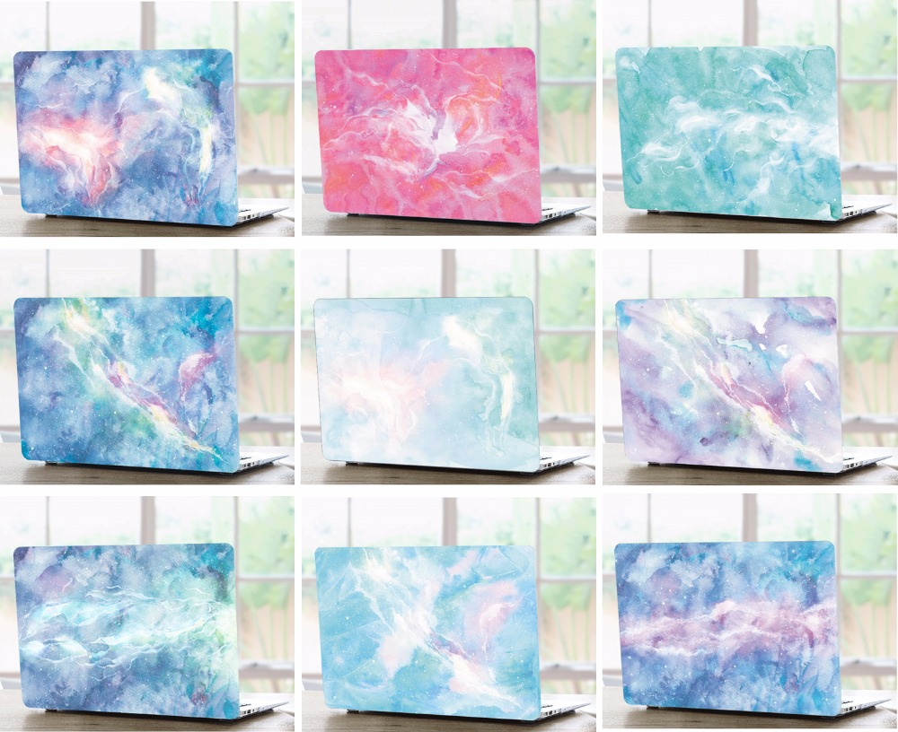 Marble Pattern Laptop Hard Shell Case Keyboard Cover Skin Set Pouch For 11 12 13 15