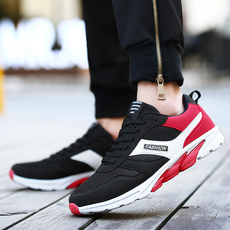 Size 39-44 High Quality Men Breathable  Casual  Shoes fashion mens luxury branded designer male rubber sole shoes zapatillas