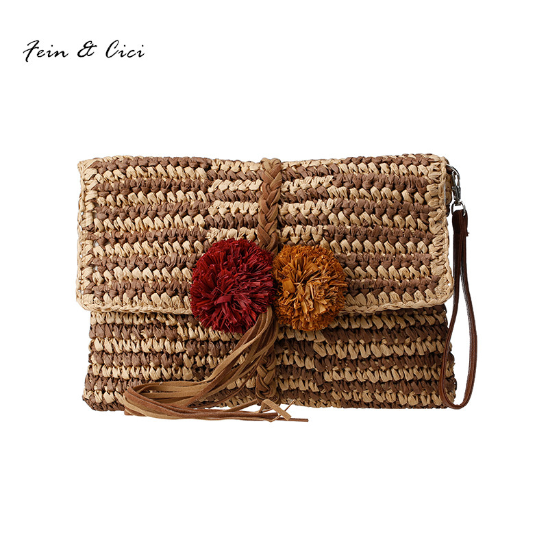 Online Buy Wholesale straw clutch bag from China straw clutch bag ...