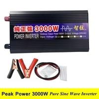 WORKSTAR пик 3000 Вт Чистая синусоида решетки инвертор DC 12 В/24 В к AC 220 50 Гц/60 Гц инвертор для солнечной системы гарантия 2 года