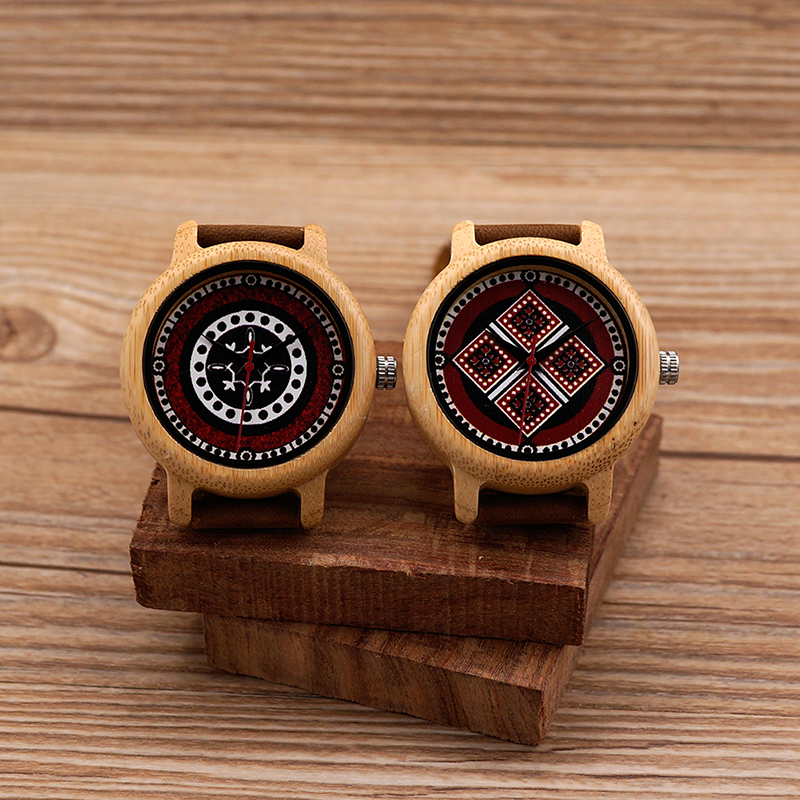 18bebce42a8 BOBO BIRD Brand Women Bamboo Watches Ladies Quartz Wristwatches Female  Clock Lady Quartz Watch relogio feminino C aJ19-in Women s Watches from  Watches on ...
