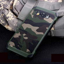 Army Camo Camouflage Pattern back cover Hard Plastic TPU Armor Anti-knock protective case For Samsung Galaxy J7 Prime On7 2016 kinston rhombus pattern protective plastic hard back case for samsung galaxy note 2 n7100 white