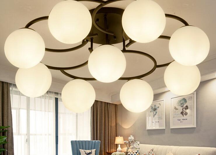 Retro Deckenleuchte Runde Led Modernen Minimalistischen Wohnzimmer Licht Esszimmer Kche Schla