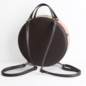 Image 3 - Vintage Round Clock Designer Bag Japan Lolita Style 3 Ways Shoulder Bag Lady Girls Alice Handbag Back pack