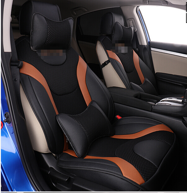 High Quality! Special Car Seat Covers For Honda Civic 2017
