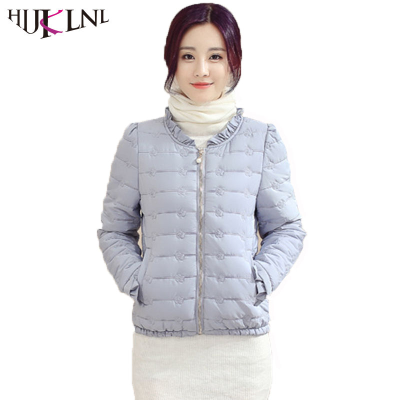 HIJKLNL camperas mujer Winter Cheap Coat Women Candy Color Slim Fit Jacket Coat 2017 Female O