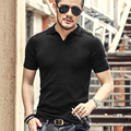 Summer men tops tees Short Sleeve polo Shirt men Knit polo shirt slim Brand cotton Men's Casual Shirts size M-XXL 2017 New