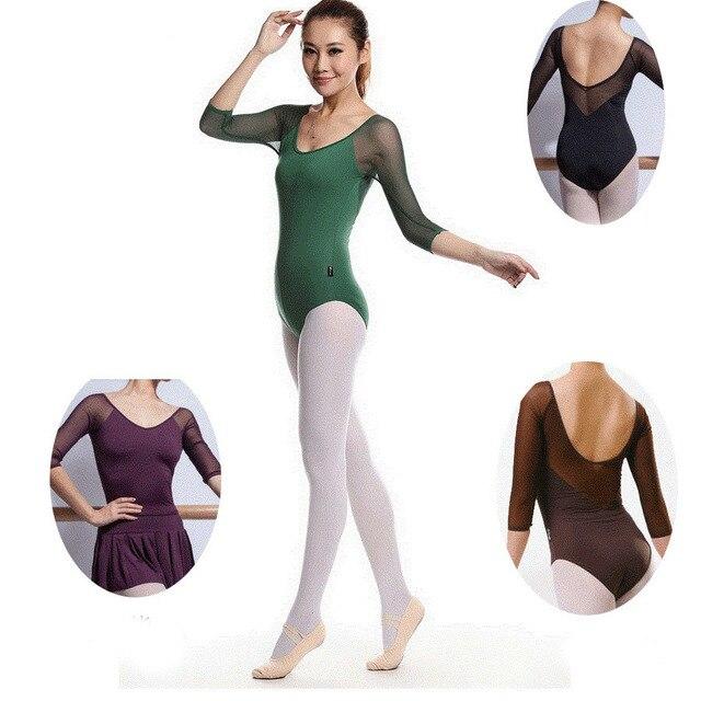 c30afa73d0 Crianças Meninas Ballet profissional Tutu Leotards Ginástica Acrobacias  Trajes Dancewear Dancesuit