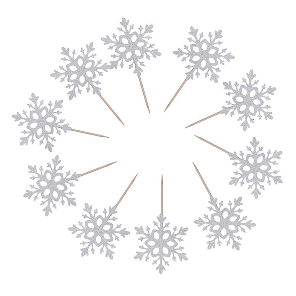 Buy snowflake cake toppers and get free shipping on AliExpress.com
