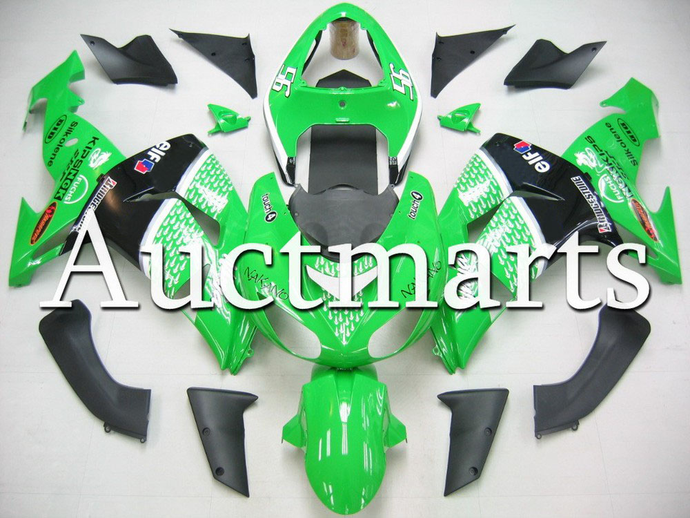Fit for kawasaki  ZX-10R 2006-2007 high quality ABS Plastic motorcycle Fairing Kit Bodywork ZX 10R 06 07 ZX10R CB03 abs fairing kit for kawasaki zx10r zx 10r 2006 2007 ninja green black line 07 06 fairing kit xl36