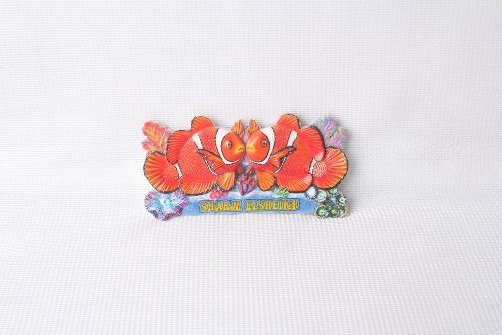 YC601701C rational construction fish fridge magnet souvenir