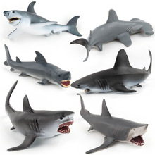 Ocean Sea shark toy anime figure Toys & hobbies plastic animals action toys set educational for children boys