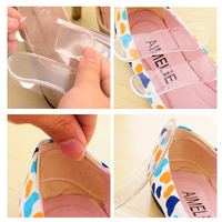 1Pair Orthotic Silicone Insole Foot Care Products High Heel Grips Women Invisible Shoes Heel Cushion Pad Protector Relieve Pain Body Care