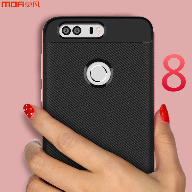 For Huawei honor 8 case MOFi for huawei honor 8 cover TPU soft case PC frame lines honor 8 accessories capa coque funda 5.2""