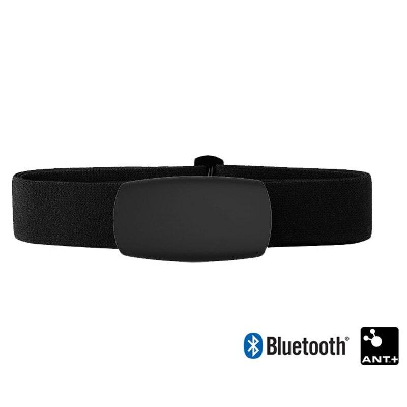 Fascia Cardio Con Fascia Toracica Nero Intelligente Bluetooth E ANT + Compatibile Con Orologi Sportivi Come Garmin Polar Sunnto