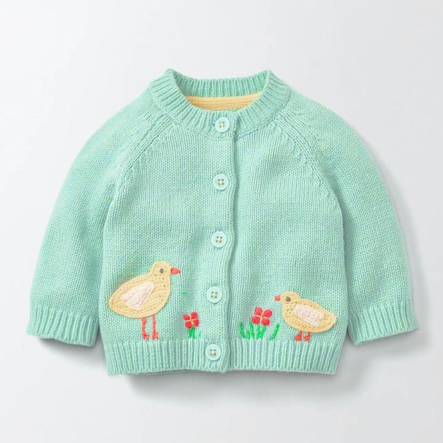 affa5752d27e Big Discount Autumn Children Thin Sweaters Cartoon Animals ...