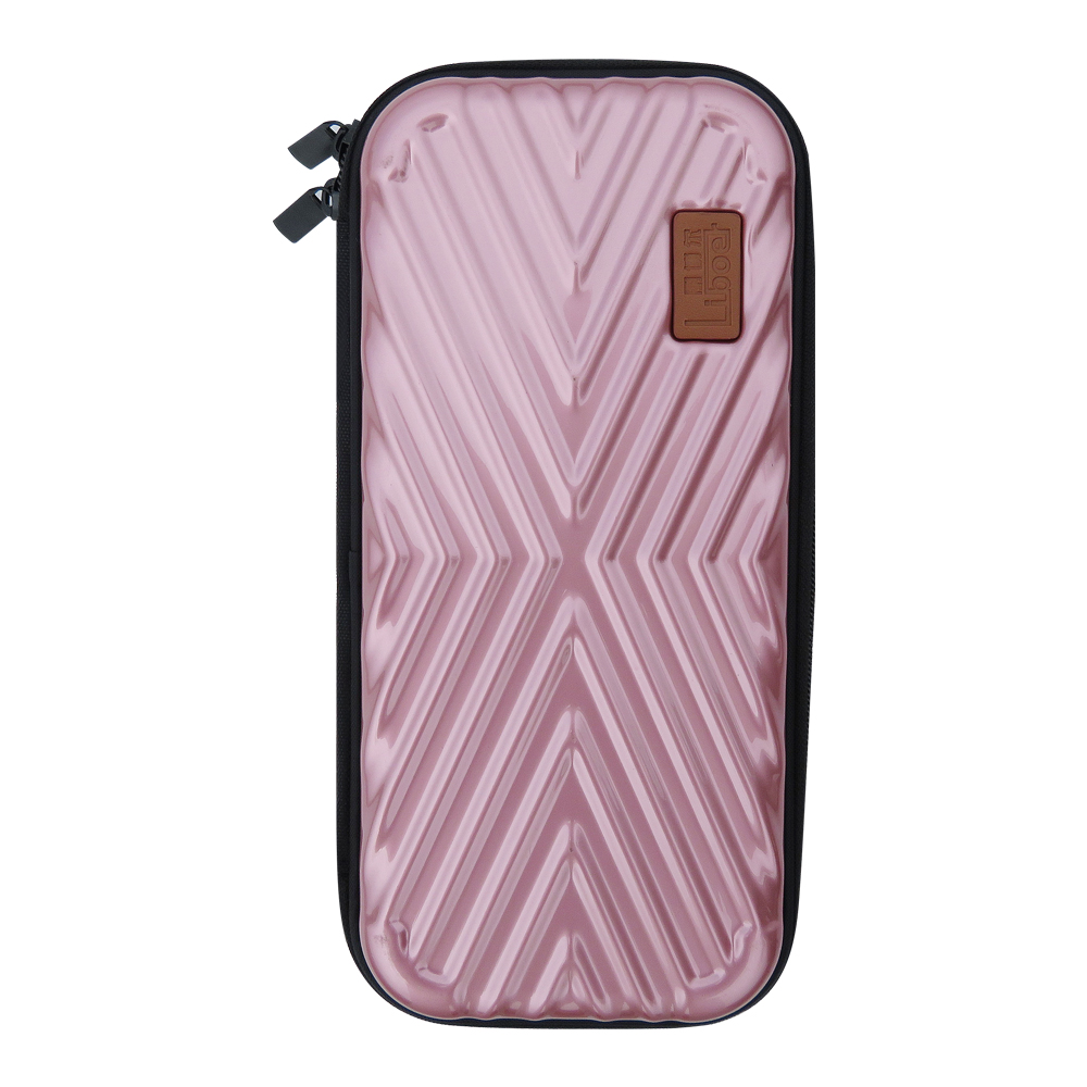 Liboer Nintend Switch Hard Case Thin Travel Pouch Shell for Nintendo Switch Console Carry Rose Gold Nintend Switch Bag for Girl in Bags from Consumer Electronics